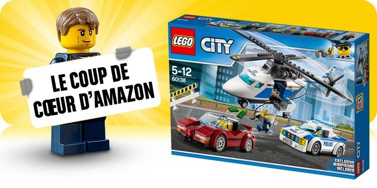 Lego city jeux et jouets ville police - Comment faire une ville lego city ...