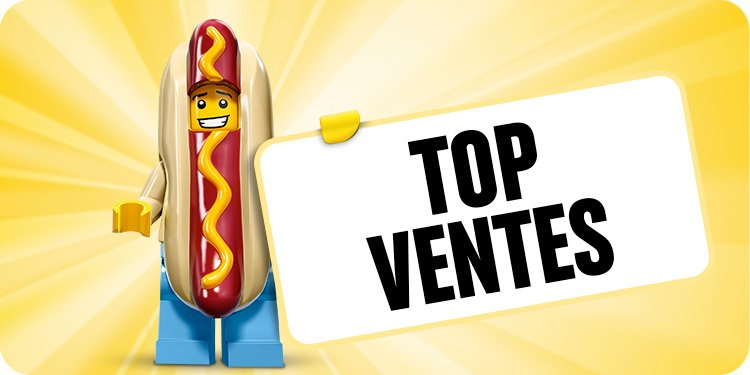 Top ventes jeux de construction Lego