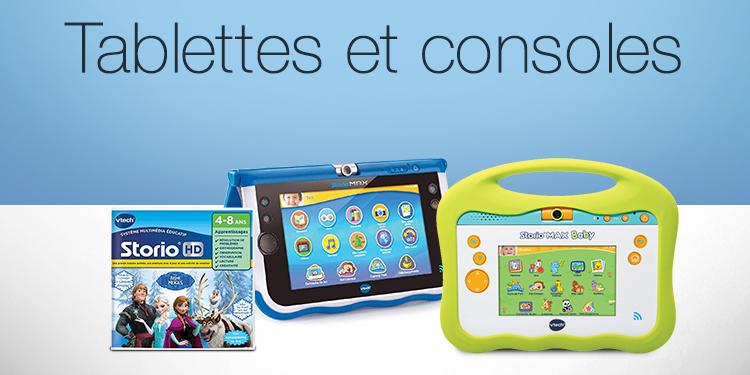 Tablettes et consoles