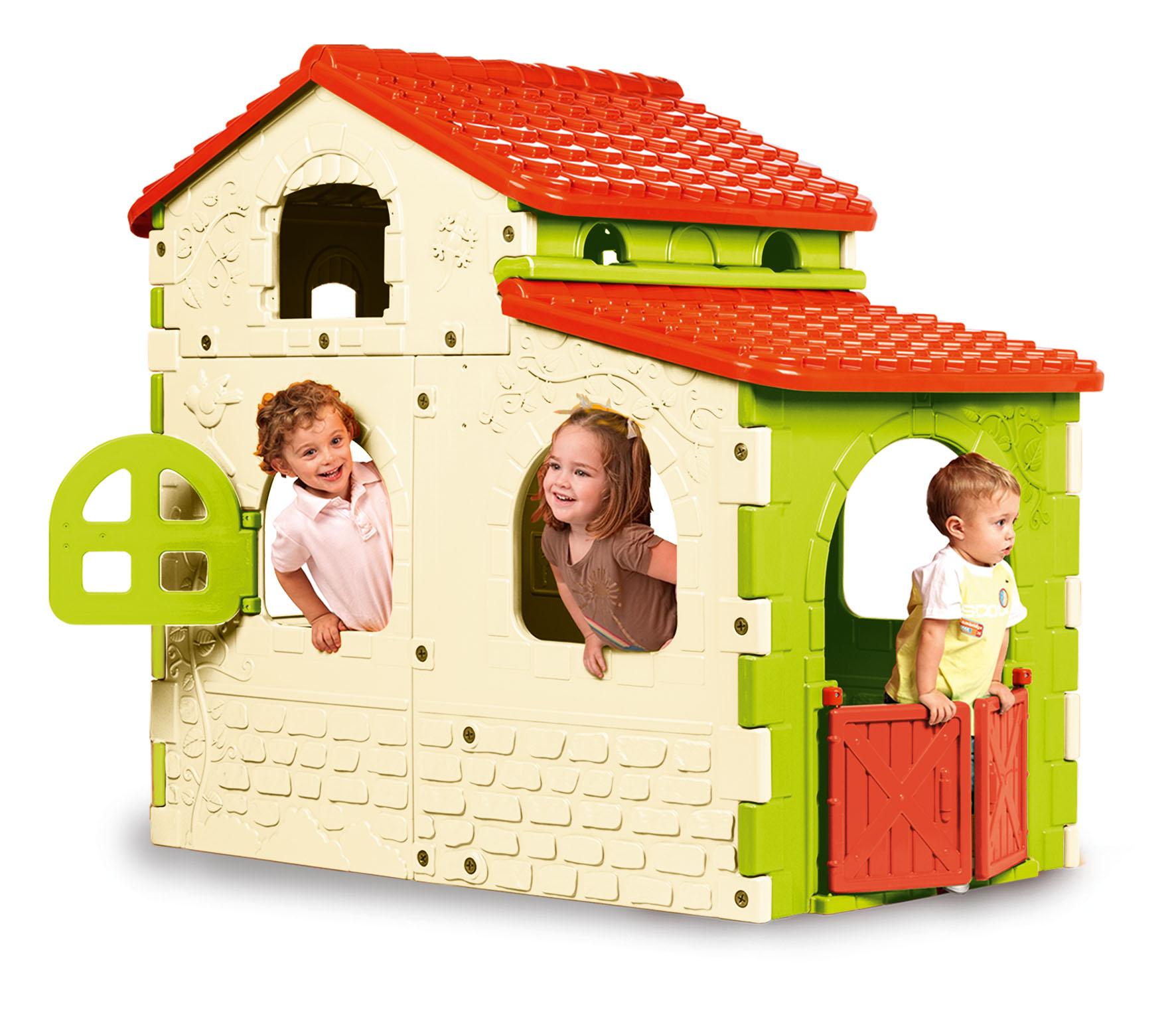 feber 800008591 jeu de plein air sweet house amazon. Black Bedroom Furniture Sets. Home Design Ideas