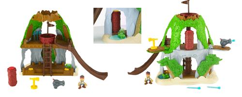 Fisher-Price Mattel Jake et les pirates du pays imaginaire, Cachette ...
