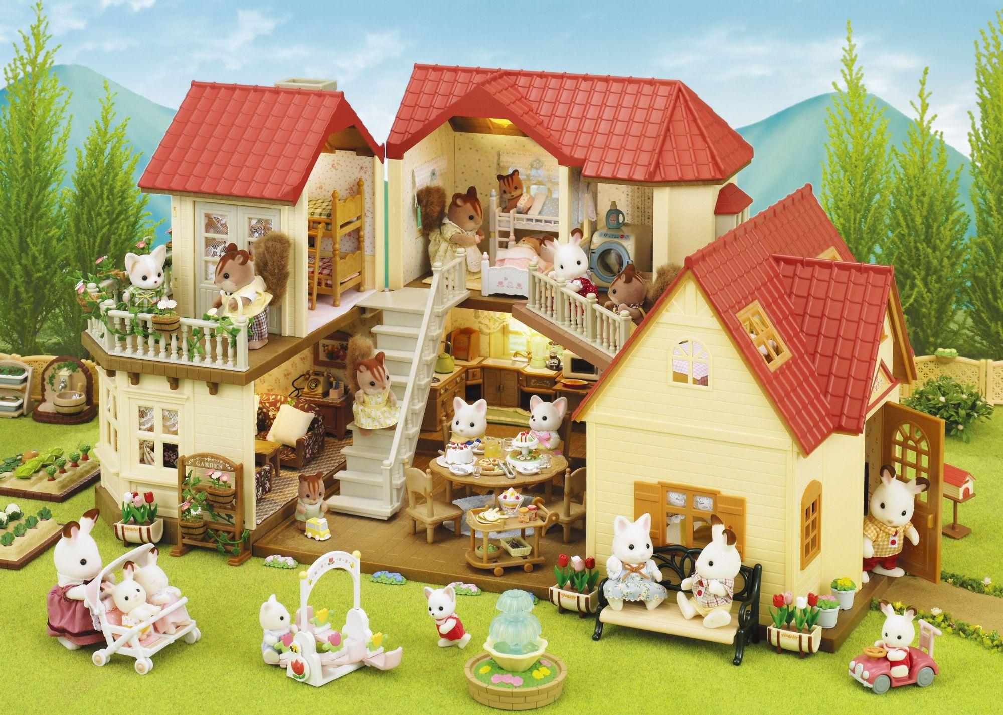 Sylvanian families 2752 poup es et accessoires - Maison charme et tradition ...