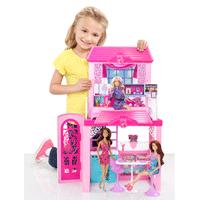 Barbie - X7945 - Maison de Poupée - Maison de Vacances: Amazon.fr: Jeux et Jouets
