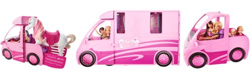 barbie x8410 maison de poup e camping car equestre. Black Bedroom Furniture Sets. Home Design Ideas