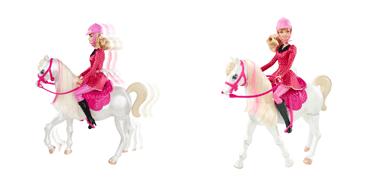 barbie y6858 accessoire poup e cheval concours jeux et jouets. Black Bedroom Furniture Sets. Home Design Ideas