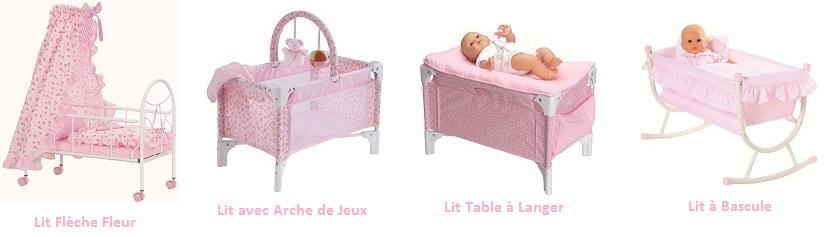 corolle accessoire poupon mon premier la nursery lit b b j4587 jeux et jouets. Black Bedroom Furniture Sets. Home Design Ideas