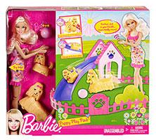 Barbie - DWJ68 - Poupes - Balade Du Chien: Barbie: Amazon
