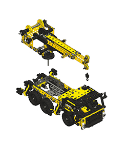 meccano 868200 jeu de construction camion grue evolution jeux et jouets. Black Bedroom Furniture Sets. Home Design Ideas