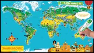 Leapfrog Mappemonde Interactive