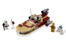 lego star wars lukes landspeeder