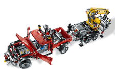 lego technic camion grue tracteur agricole. Black Bedroom Furniture Sets. Home Design Ideas