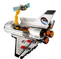lego city 3367 jeu de construction la navette spatiale jeux et jouets. Black Bedroom Furniture Sets. Home Design Ideas