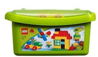 lego 5506 jeu de construction bricks more duplo grande bo te de briques. Black Bedroom Furniture Sets. Home Design Ideas
