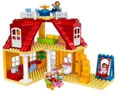 lego 5639 duplo ville jeu de construction la maison jeux et jouets. Black Bedroom Furniture Sets. Home Design Ideas