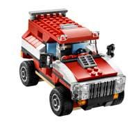 lego 5867 jeu de construction lego creator la voiture de rallye jeux et jouets. Black Bedroom Furniture Sets. Home Design Ideas