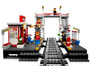 lego 7937 jeux de construction lego city la gare jeux et jouets. Black Bedroom Furniture Sets. Home Design Ideas