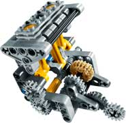 lego 8051 jeu de construction technic la moto jeux et jouets. Black Bedroom Furniture Sets. Home Design Ideas