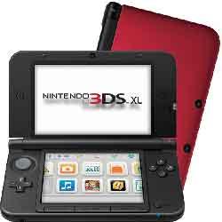 Console nintendo 3ds xl rouge noir jeux vid o for Ecran noir appareil photo 3ds