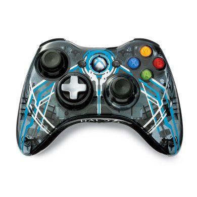 Console Xbox 360 320 Go 2 Manettes Micro Casque Halo 4
