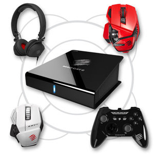 Mad Catz M.O.J.O. seamless integrates with any of our GameSmart range of products