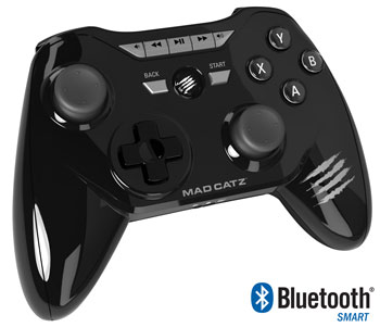 Mad Catz C.T.R.L. R features easy connectivity, with or without Bluetooth