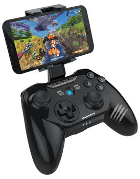 Mad Catz C.T.R.L. R is ready for travel thanks to the included travel clip