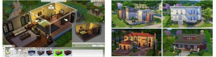 les sims 4 dition limit e jeux vid o. Black Bedroom Furniture Sets. Home Design Ideas