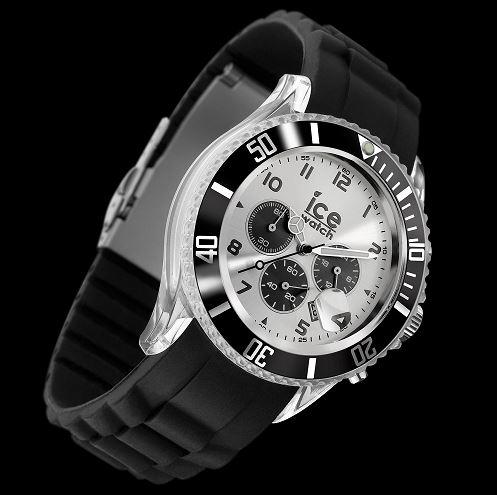 ice watch montre mixte quartz analogique ice chrono. Black Bedroom Furniture Sets. Home Design Ideas