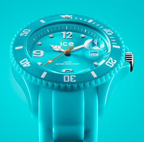 Ice watch ice forever turquoise montre bleue pour - Montre ice watch bleu turquoise ...