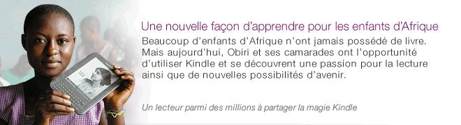 Des Kindle pour les enfants dAfrique