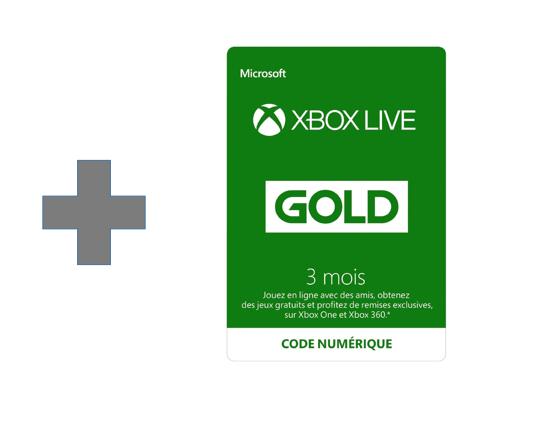 Xbox Live 3 Mois Gold