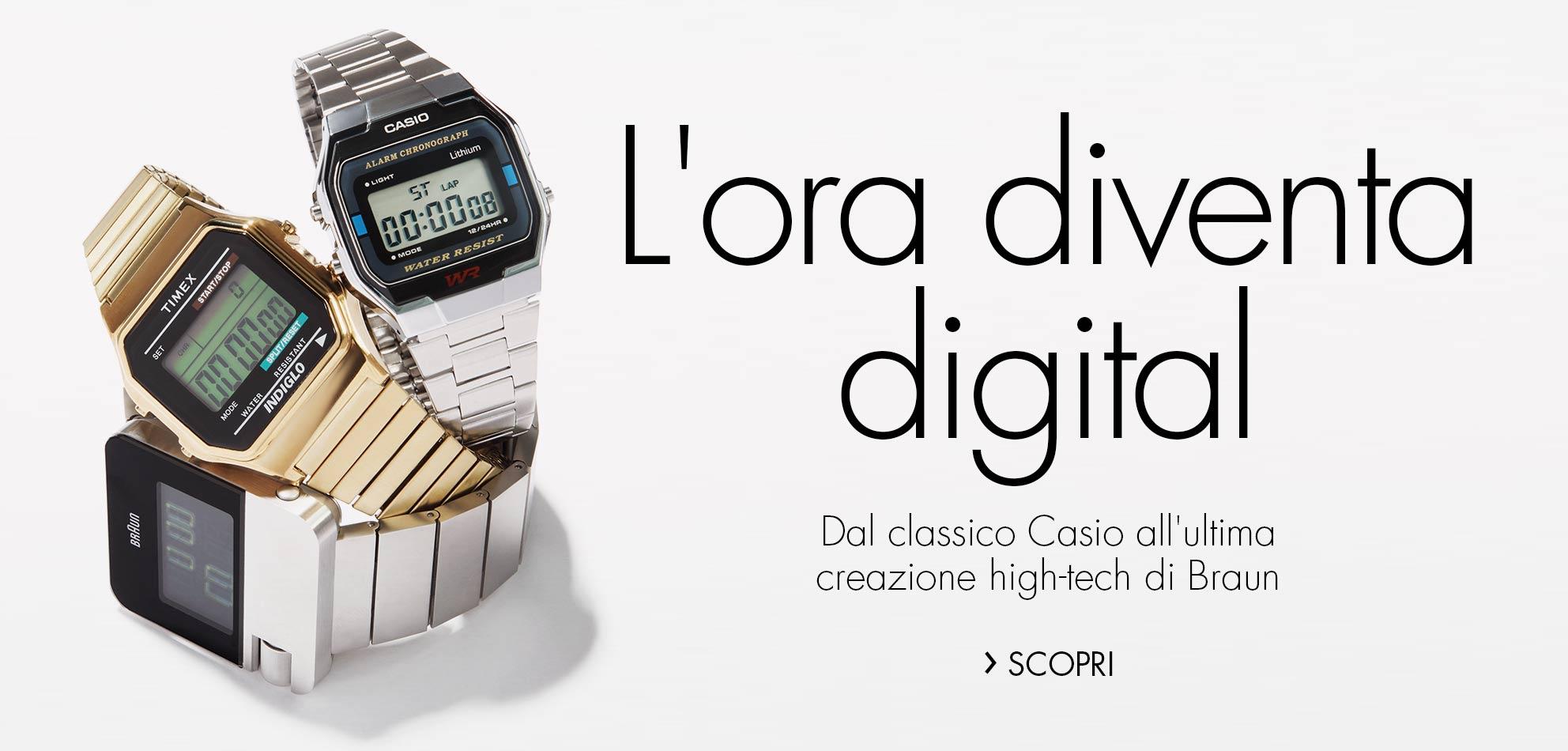 L'ora diventa digital