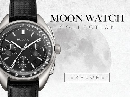 Bulova Uhren - Moon Uhren