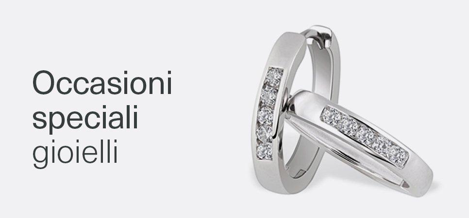 Occasioni speciali gioielli