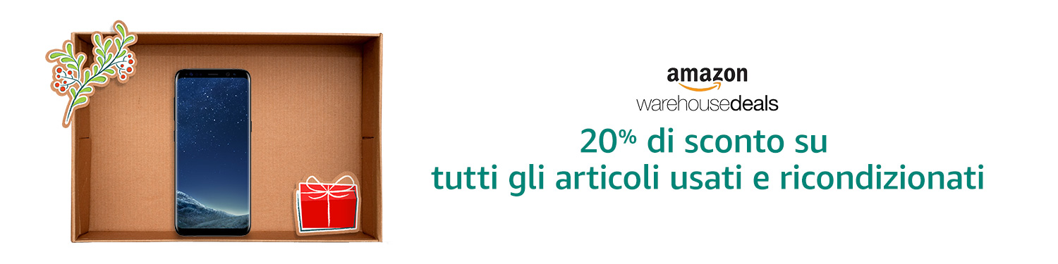 Warehouse Deals 20% di sconto