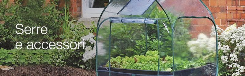 Serre e attrezzature per la germinazione