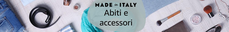 Abiti e accessori Made in Italy