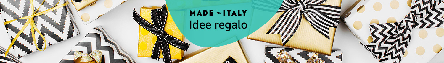 Idee regalo Made in Italy