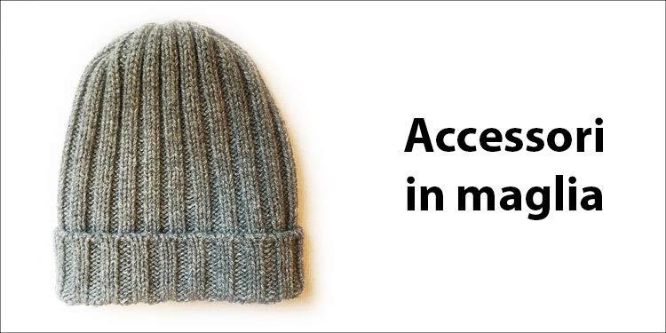 Accessori in maglia