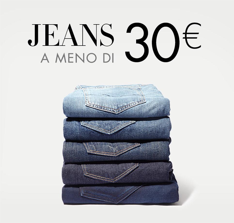 Jeans a meno 30€
