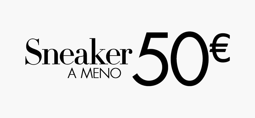 Sneaker meno 50e