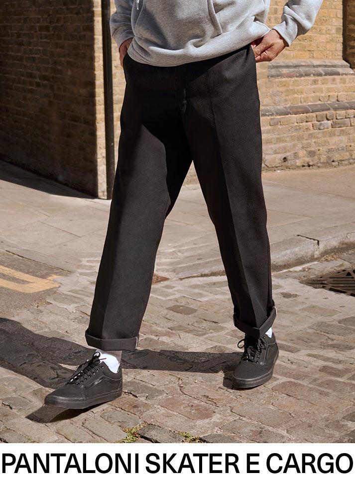 Pantaloni skater e cargo