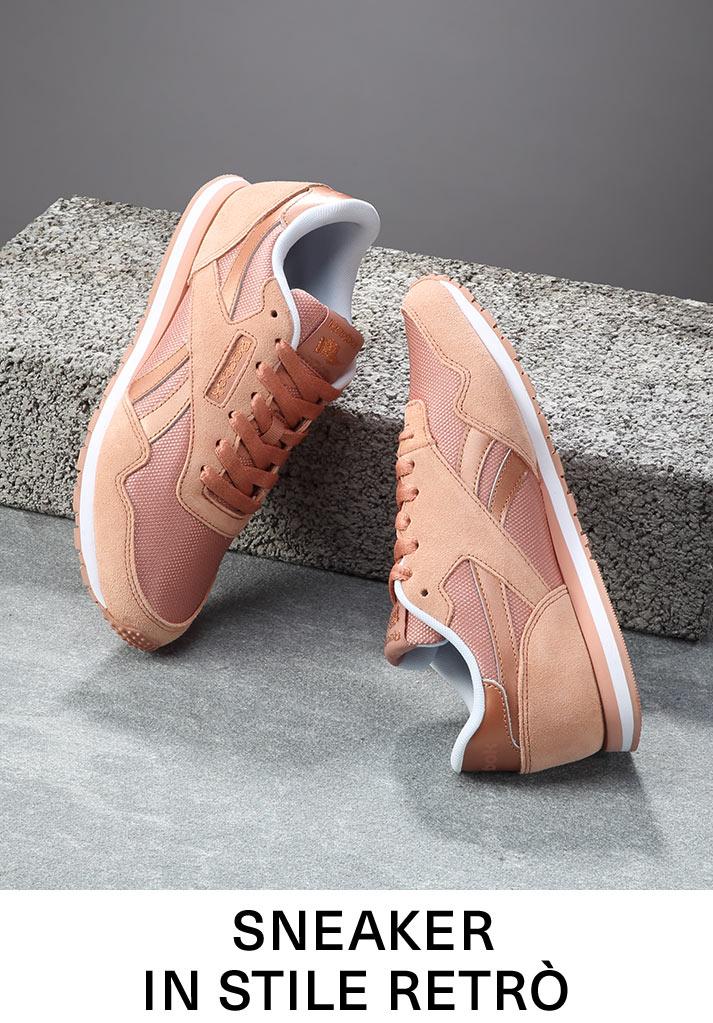 Sneaker in stile retro