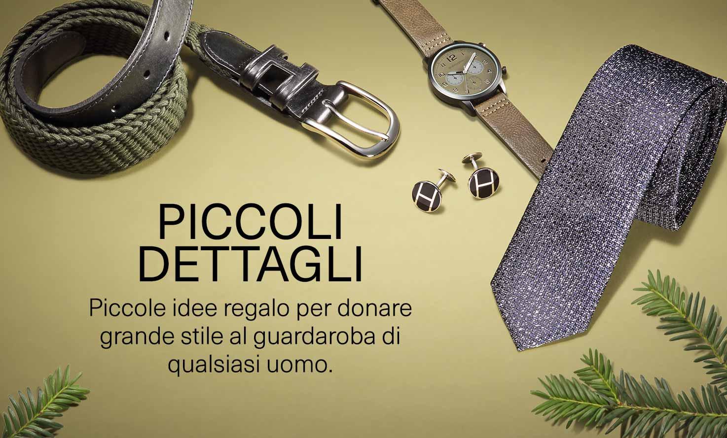 Piccoli dettagli: piccole idee regalo per donare grande stile al guardaroba di ogni uomo.