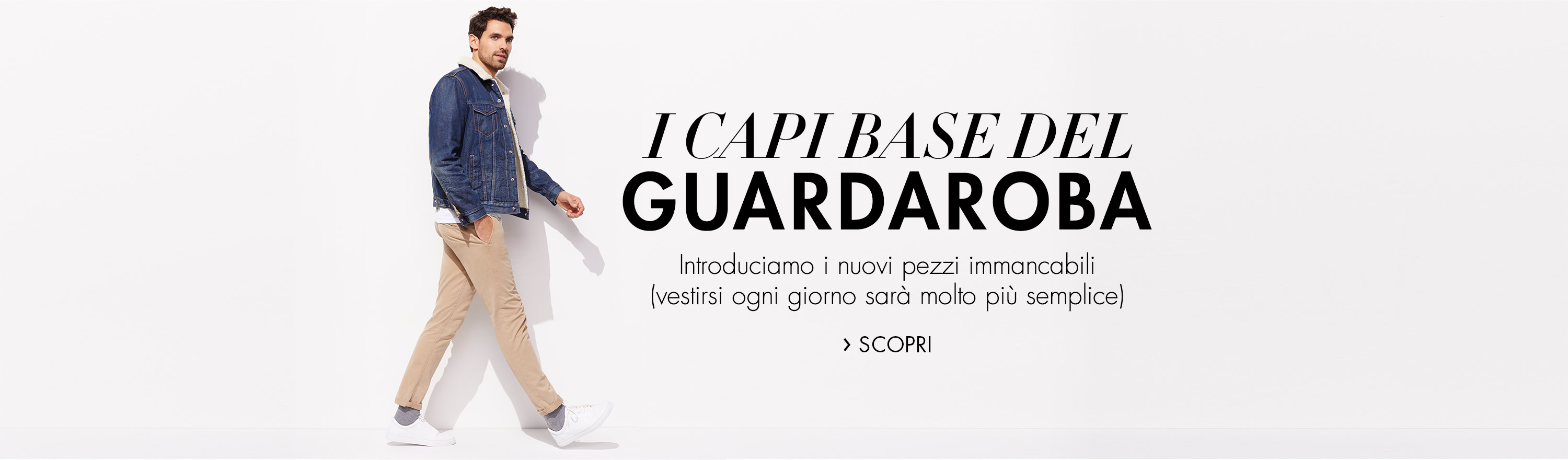 I capi base del guardaroba