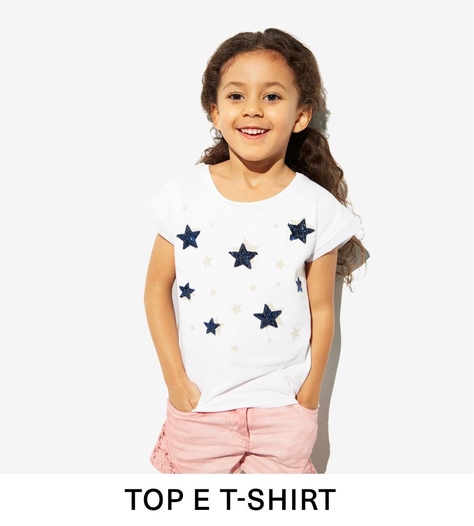 Top e T-Shirt Bambina