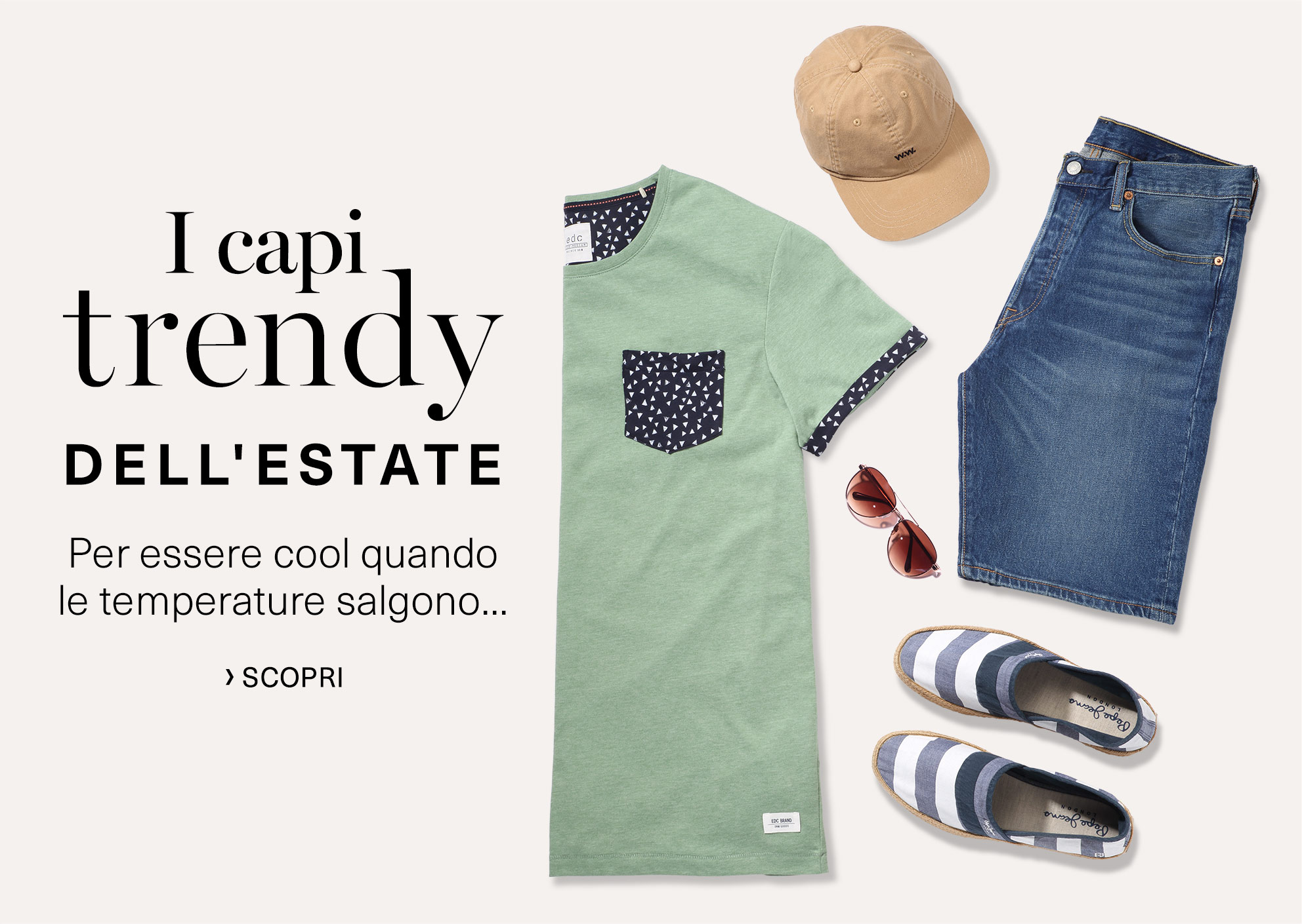 I capi trendy dell'estate