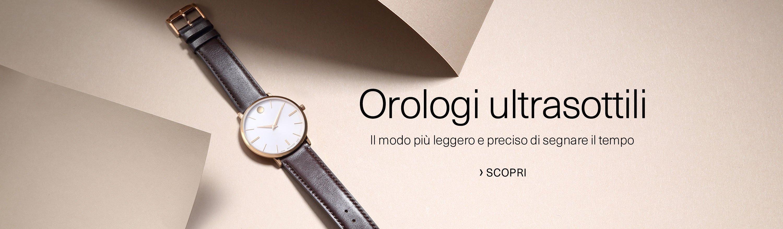 Orologi Ultrasottili