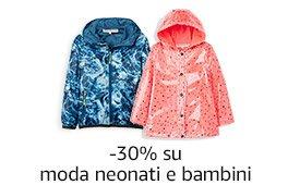 -30% su moda neonati e bambini, in esclusiva su Amazon