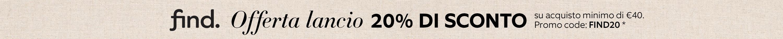 20% di sconto